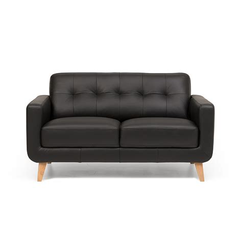 black 2 seater sofa black 2 seater sofa flynn leather 2 seater sofa black