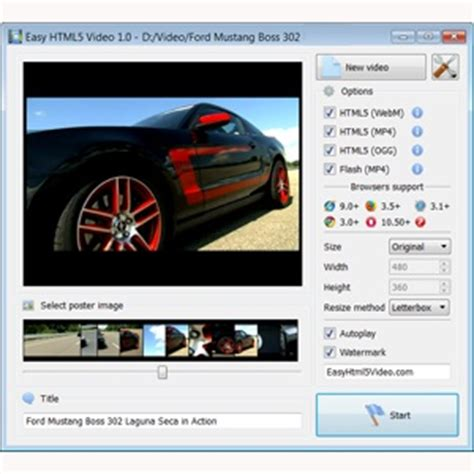 format video html5 convert silverlight to html5 easy way