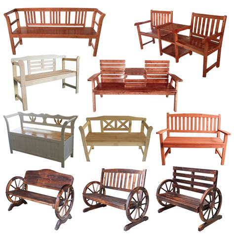 wooden bench outdoor furniture foxhunter 2 3 seater wooden bench chair table outdoor