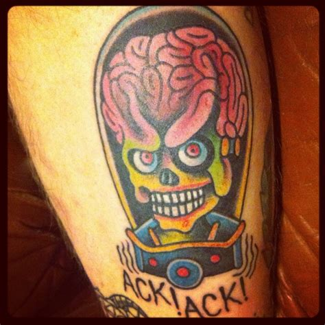 mars tattoo mars attacks tattoos i like mars attacks