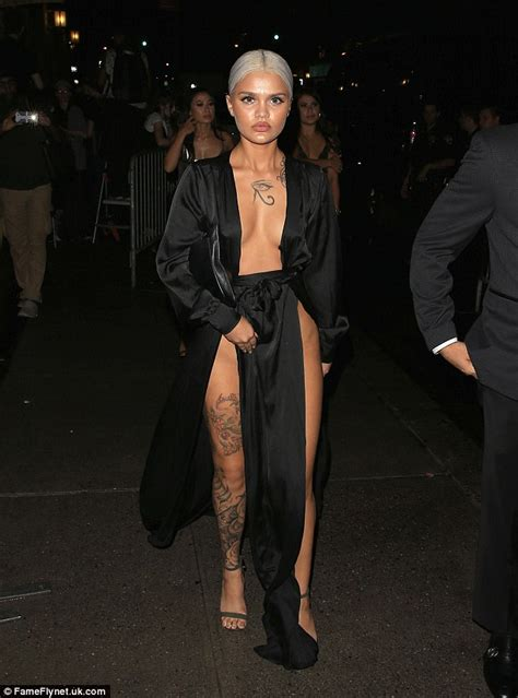 amina blue leaves almost nothing to the imagination in