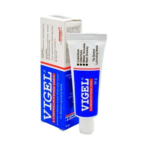 Vigel Gel 30 Gr 3 Pcs jual vigel lubricant gel 30 gr harga kualitas
