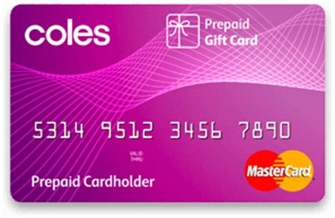 Visa Prepaid Card Vs Gift Card - can i use my recently purchased coles prepaid master card purple one at good guys
