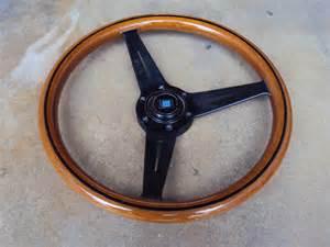 Nardi Wood Steering Wheels For Sale Nardi Classic Wood Steering Wheel Black 360mm