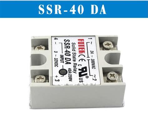 Ssr 40 Dah relevador de estado s 243 lido ssr 40da 40a 250v 3 32vdc arduino 139 00 en mercado libre