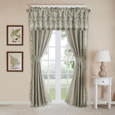 harbor house curtains harbor house cecil window curtain panel pair and valance