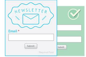 newsletter signup form template email signup form template