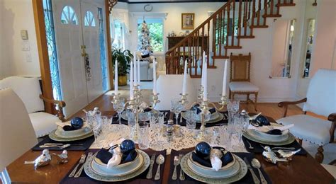 elegant tablescapes traditional dining room atlanta festive dining frenchflair s tablescape elegant