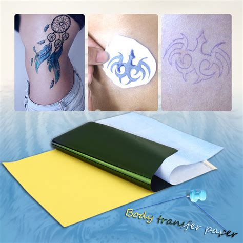 tattoo paper supplies 10sheets tattoo transfer carbon paper supply tracing copy