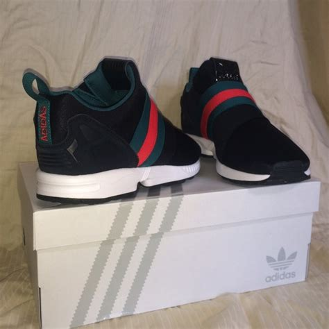 43 adidas shoes custom gucci adidas zx flux slip on sneakers from s closet on poshmark