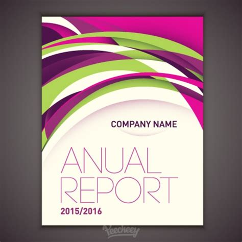cover page for annual report template design for annual report cover free vector in adobe illustrator ai ai vector illustration
