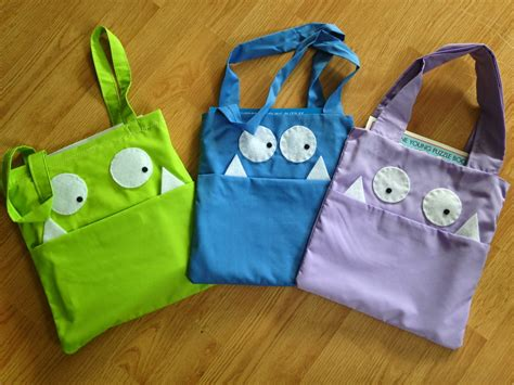 pattern for library bag a librarian less ordinary monster book bags