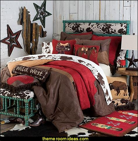 cowboy bedroom decor decorating theme bedrooms maries manor cowboy theme