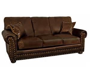 western sofa sleeper rustic sofa sleeper