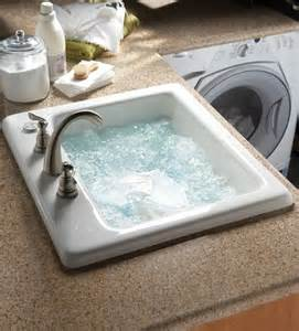 Laundry Room Sink With Jets A Sink In The Laundry Room With Jets So You Can Wash Delicates Without Destroying Them Ummm