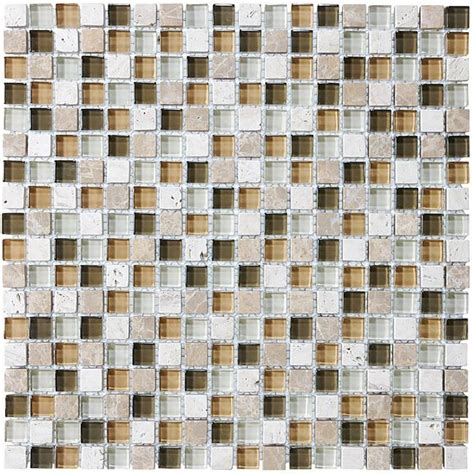 bliss bamboo stone and glass square mosaic tiles rocky point tile glass and mosaic tile store