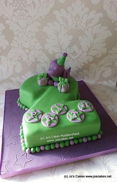 Barney Themed 2nd Birthday Cake   Birthdays :)   Barney