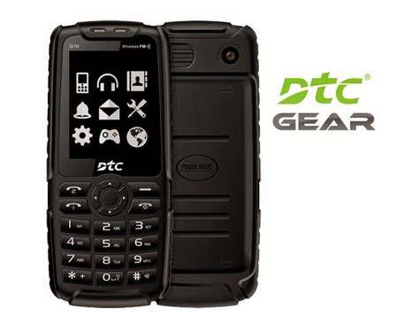 rugged phones philippines dtc gear sturdy phone with 4 500mah battery flashlight and functions as powerbank