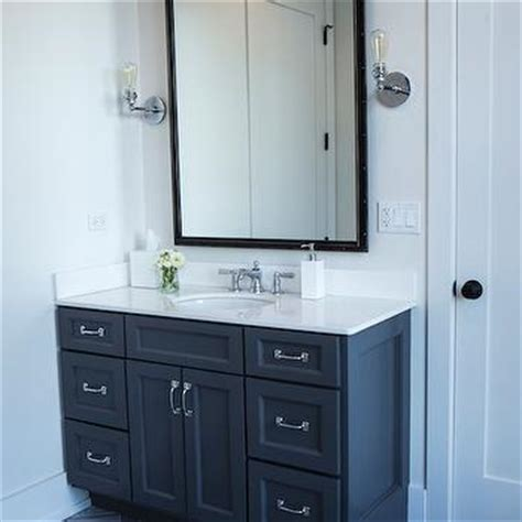 dark grey bathroom vanity gray floor mirror design ideas