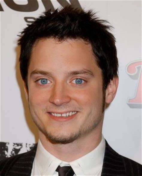 elijah wood smile was that johnny depp in lord of the rings film strip