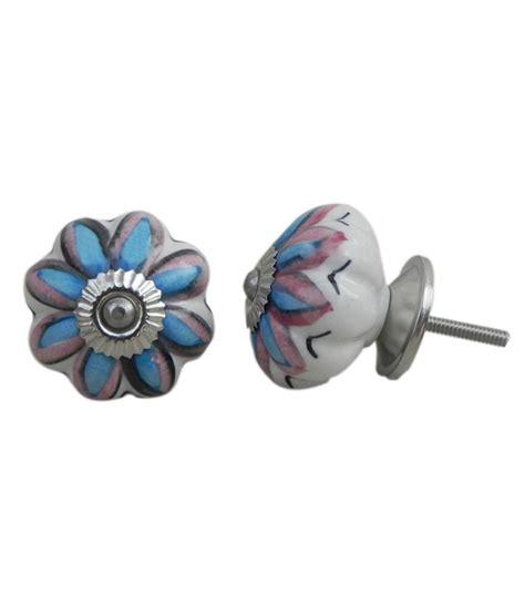 buy indianshelf ceramic door handles knobs pack of 4