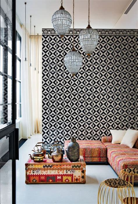 best moroccan inspired wallpaper design ideas remodel howne blog id 233 es pour une d 233 co ethnique chic 233 l 233 gante d 233 co