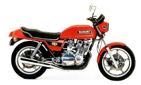 Suzuki Gsx 750 1981 Suzuki Gsx750e Year By Year