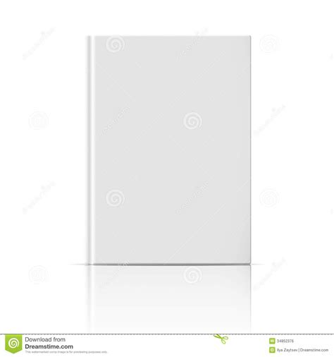 blank book template for blank vertical book template royalty free stock image