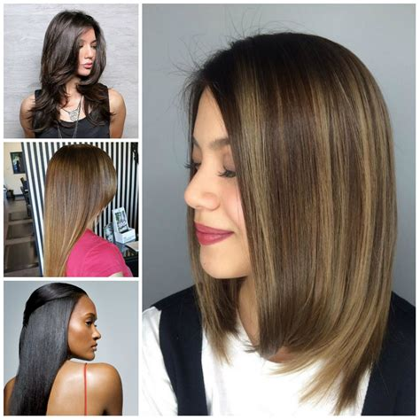medium bob hairstyles brazillian blowout chic haircuts 2017 haircuts hairstyles and hair colors