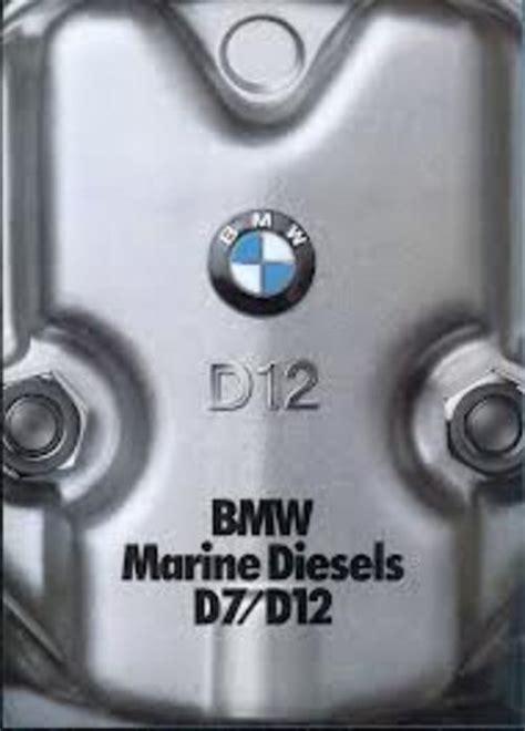 bmw marine  diesel workshop service repair manual tradebit
