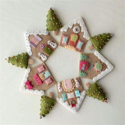 christmas on pinterest gingerbread houses garlands and fieltro navide 241 o cositas de navidad pinterest