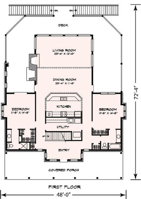 upper living house plans cottage style house plan 3 beds 3 baths 2398 sq ft plan