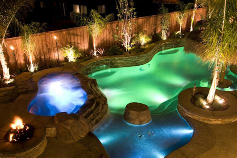 pool lighting ideas 75 brilliant backyard landscape lighting ideas 2017