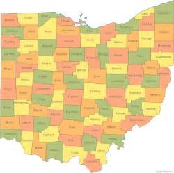 Ohio On A Map by Map Of Ohio