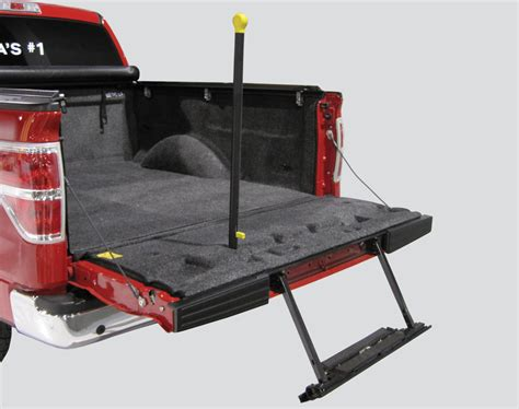 truck bed step sportliner by bedrug 8 0 ss w tailgate step the