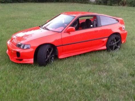custom honda crx find used 1990 honda crx si coupe 2 door 1 6l super nice b