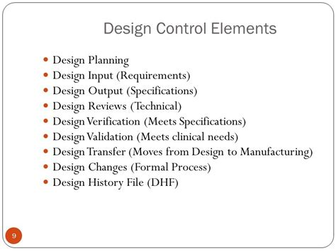 design review elements development and regulation of medical products medr 101