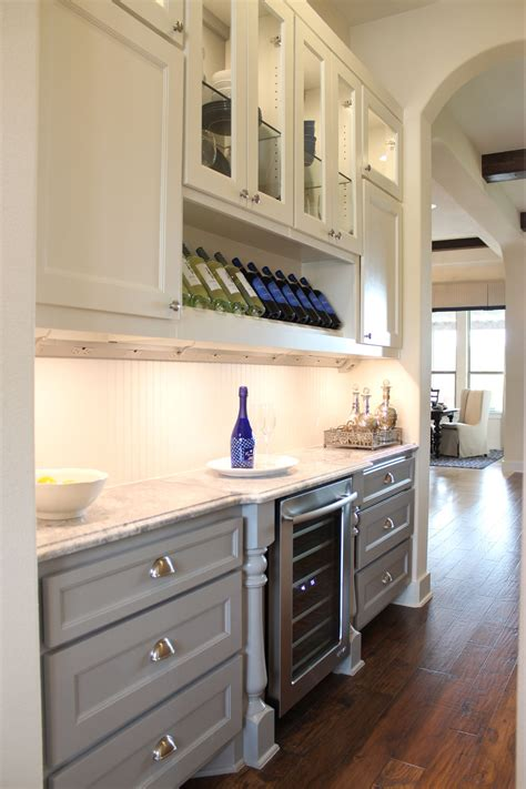 Portable Kitchen Island With Storage Buffet And Butler S Pantry Burrows Cabinets Central