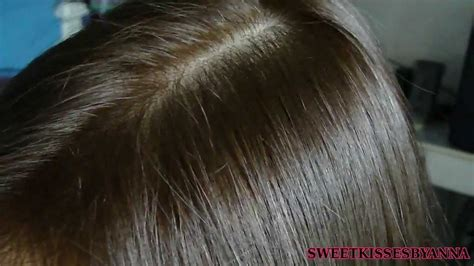 hair after 35 dark to light hair color before and after 35 smoky and