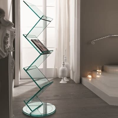 Albero Glass Book Stand   Robson Furniture