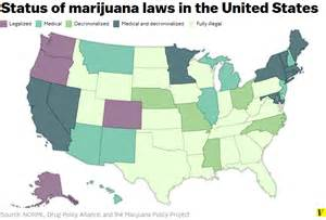States With Legal Weed Map by The Spread Of Marijuana Legalization Explained Vox
