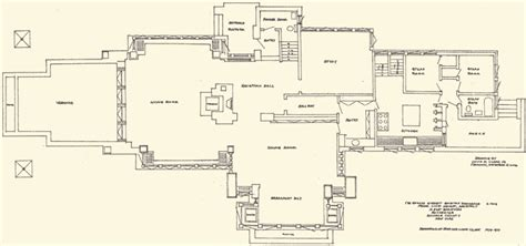 frank lloyd wright floor plans 1st floor plan growing up in a frank lloyd wright house