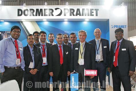 Dormer Tools India Dormer Pramet India S Tools Displayed At Imtex 2015