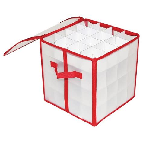 holiday ornament storage box 64ct target
