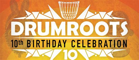 drumroots 10th birthday celebration 16th april 2016