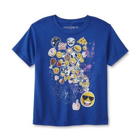 design a shirt with emojis boys graphic t shirt emojis