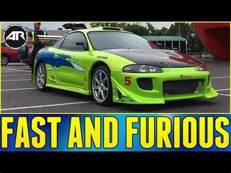 eclipse mitsubishi fast and furious fast and furious mitsubishi eclipse review youtube