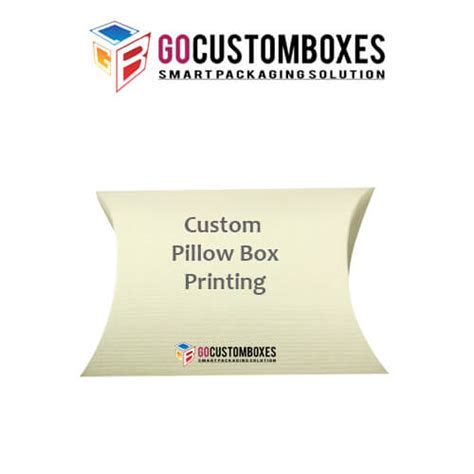 custom pillow boxes and packaging printed custom pillow