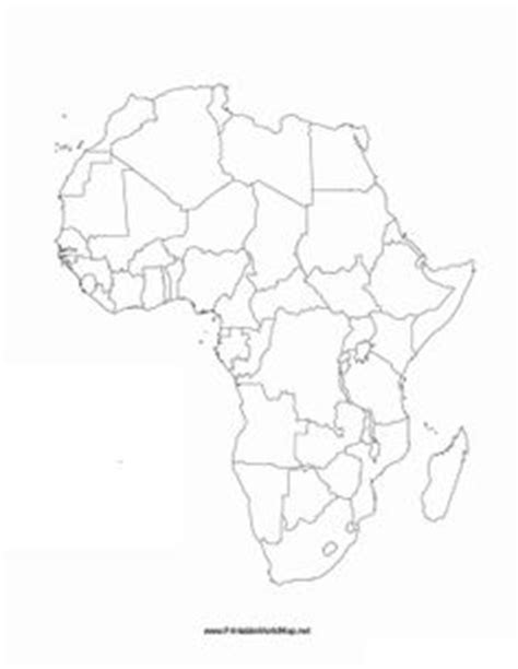 africa map fill in this printable map of the continent of africa has blank