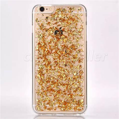 Glitter Skin Iphone 6 6s Silver gold silver glitter foil clear tpu cover